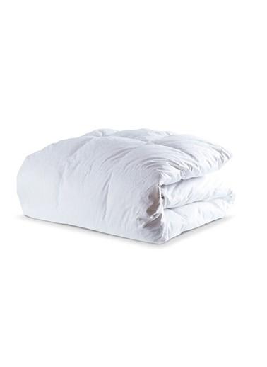 Penelope Diamond Kaz Tüyü Yorgan Çift Kişilik 200x220 Beyaz
